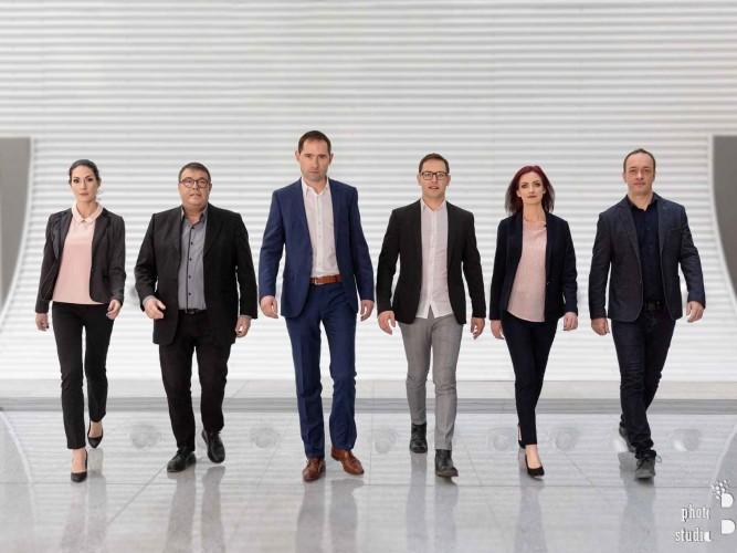 Бизнес портрет на екип